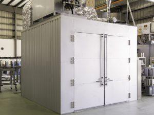 新設中型ガス乾燥炉新設
